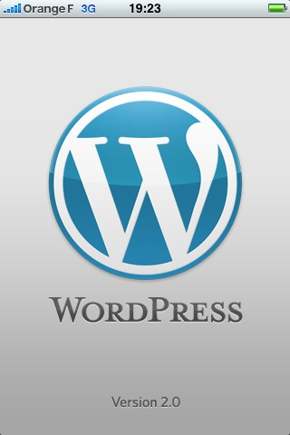 Application iPhone WordPress 2.0